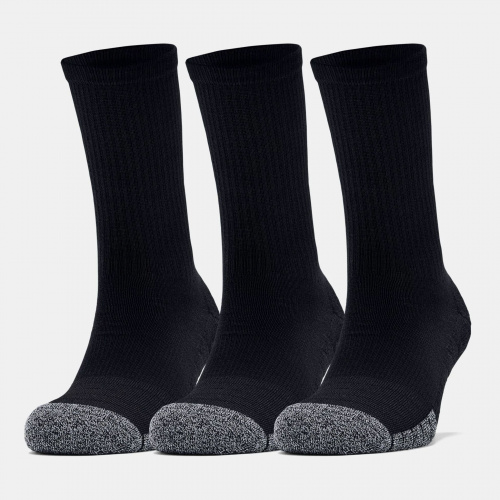 Accessories - Under Armour HeatGear Crew Socks 3-Pack | Fitness