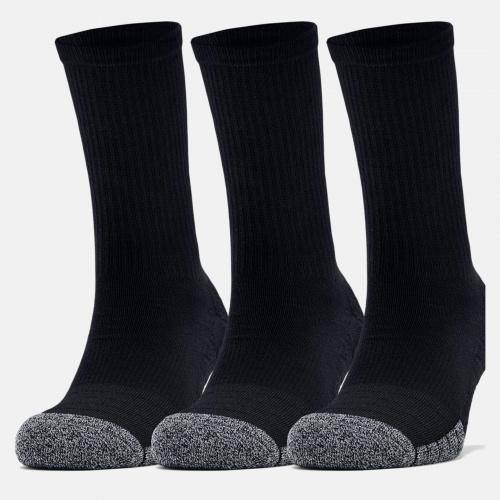 Accessories - Under Armour HeatGear Crew Socks 3 Pack 6751 | Fitness