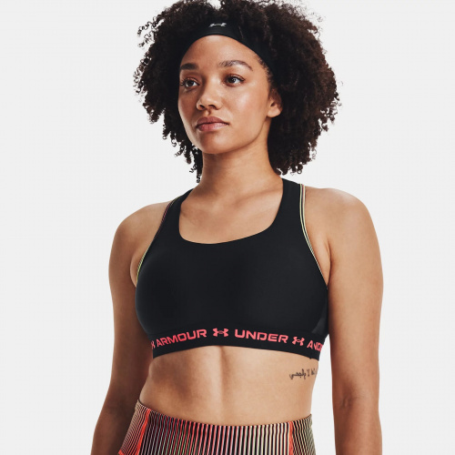 Clothing - Under Armour Mid Crossback 80s Sports Bra | Fitness