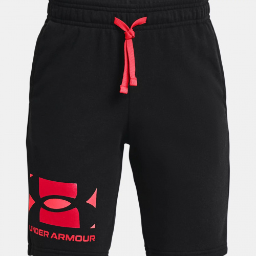 Clothing - Under Armour Rival Terry Big Logo Shorts   Fitness