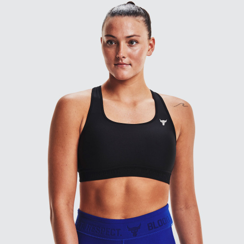 Clothing - Under Armour Project Rock Bra | Fitness