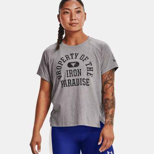Clothing - Under Armour Project Rock Property Of Short Sleeve   Fitness