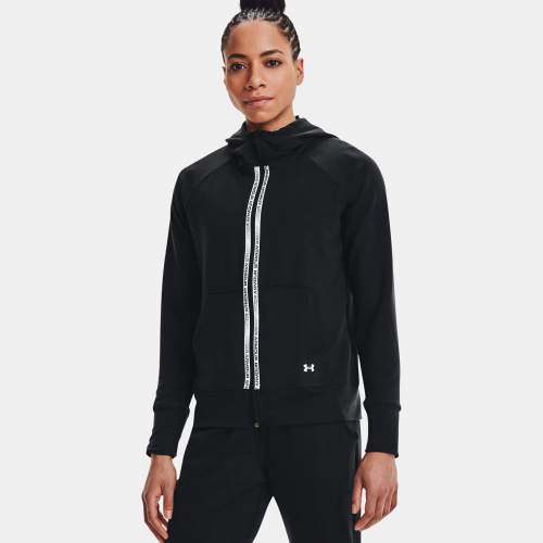 Clothing - Under Armour Rival Terry Taped Full Zip Hoodie | Fitness