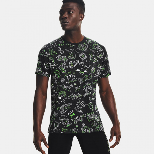 Clothing - Under Armour Run Your Face Off Print 1484 | Fitness