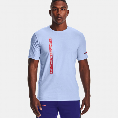 Clothing - Under Armour Vertical Wordmark Short Sleeve | Fitness