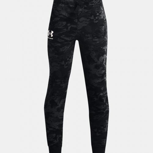 Clothing - Under Armour UA Rival Fleece ABC Camo Joggers | Fitness