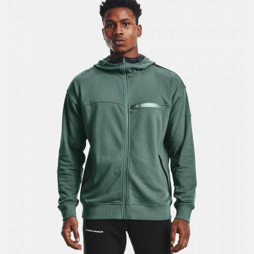 Clothing - Under Armour UA Rival Terry AMP Full Zip Hoodie 1595 | Fitness