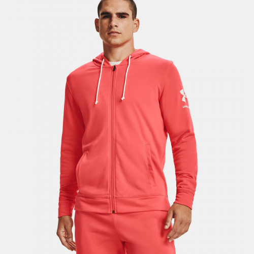 Clothing - Under Armour UA Rival Terry Full Zip Hoodie 1606 | Fitness