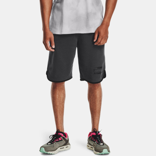 Clothing - Under Armour UA Rival Terry Number Shorts | Fitness