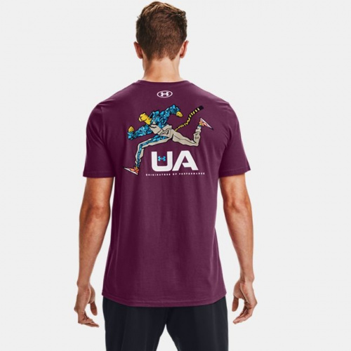 Clothing - Under Armour UA Running Cheetah T-Shirt | Fitness