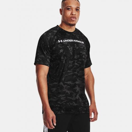 Clothing - Under Armour UA Tech ABC Camo Short Sleeve 1698 | Fitness