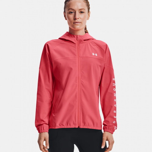 Clothing - Under Armour UA Woven Branded FZ Hoodie   Fitness