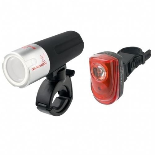 Lights & Bells - Sigma Set lumini Quadro X Combo | Bike-accesories