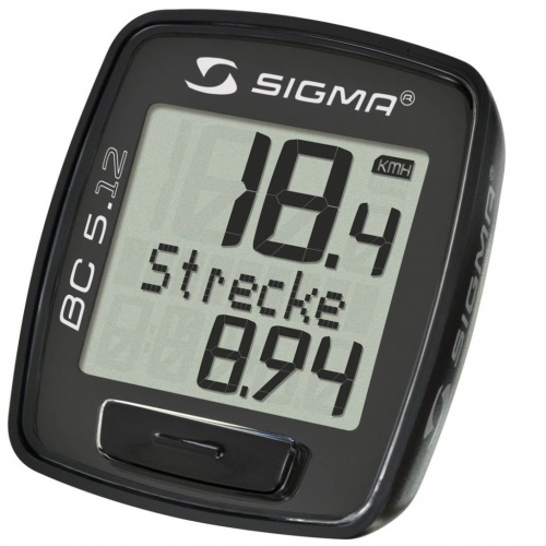 Bike Cyclocomputer - Sigma Sigma BC 5.12 | Bike-accesories
