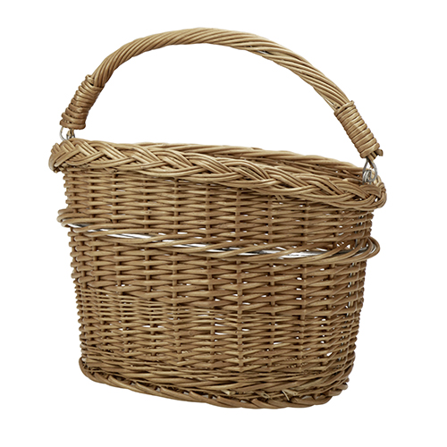 Baskets - Klickfix Wicker basket Mini | Bike-accesories