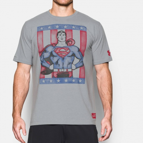 Clothing - Under Armour Alter Ego Retro Superman | fitness