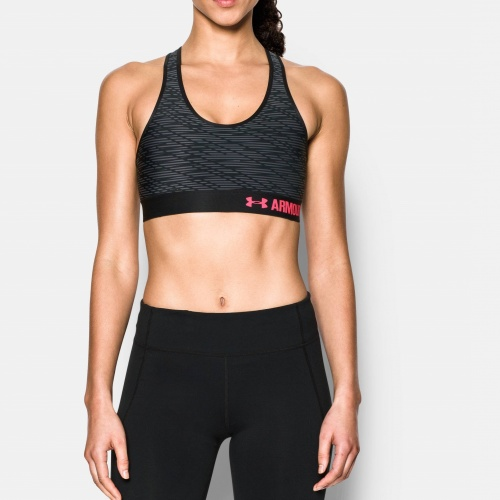 Image of: under armour - Armour Mid - Printed Bra