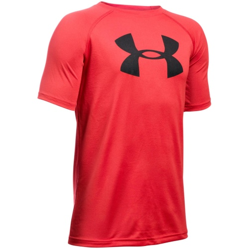 Clothing - Under Armour Boys Tech Big Logo T-Shirt | fitness