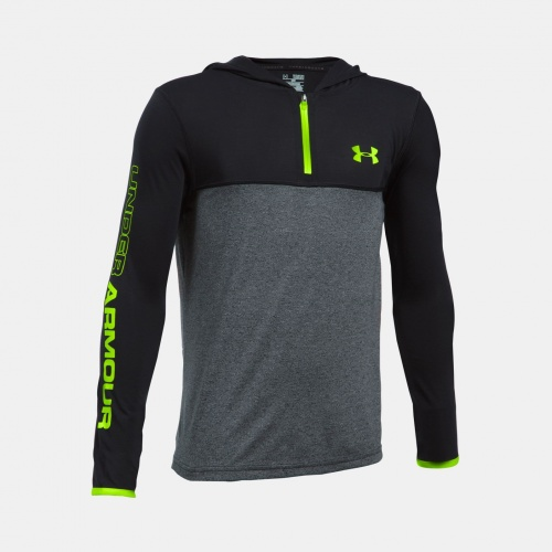 Clothing - Under Armour Boys Threadborne 1/4 Zip  9993 | Fitness