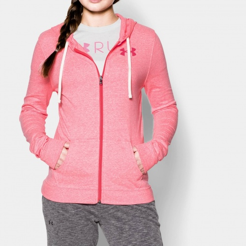 Clothing - Under Armour CC Tri-Blend Full Zip Hoodie | fitness