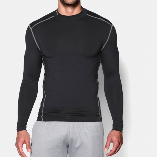 Clothing - Under Armour ColdGear Armour Compr. Mock | Fitness