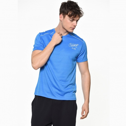 Clothing - Nike Dri-Fit Miler T-Shirt | Fitness