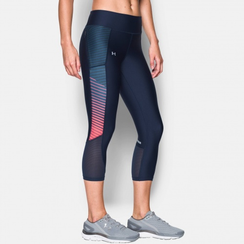 Clothing - Under Armour Fly-By Printed Capri 7934 | Fitness