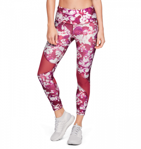 Clothing - Under Armour HeatGear Armour Ankle Crop Print Leggings 8993 | Fitness