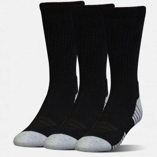 Accessories - Under Armour HeatGear Tech Crew Socks 3-Pack 2341 | Fitness
