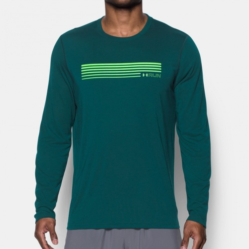 - Under Armour Run Graphic Long Sleeve T-Sh |
