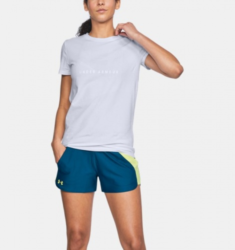Clothing - Under Armour Sportstyle Mesh Logo T-Shirt 0488 | Fitness