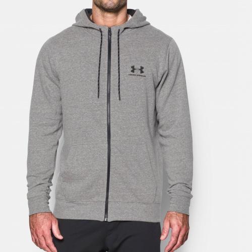 Clothing - Under Armour Sportsyle Fleece Zip Hoodie | fitness