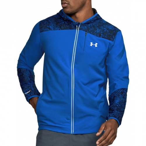 Clothing - Under Armour Storm Run Printed Jacket | fitness