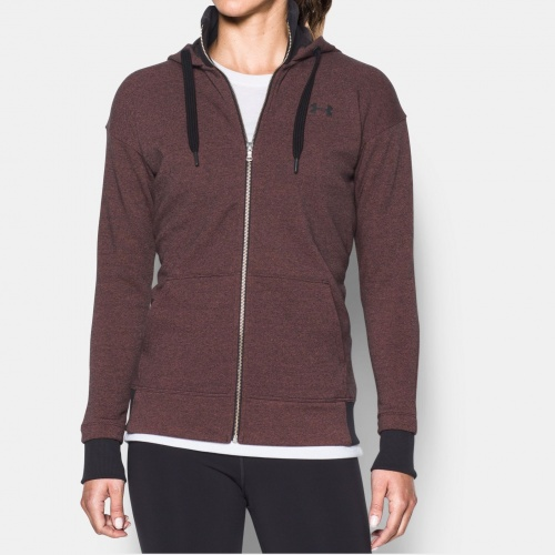 Clothing - Under Armour Threadborne Fleece Full Zip Hoodie 0290 | Fitness