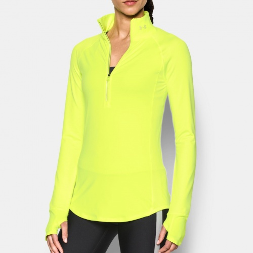 Clothing - Under Armour Threadborne Run True 1/2 Zip 4731 | Fitness