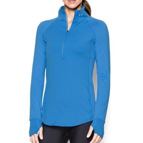 Clothing - Under Armour Threadborne Run True 1/2 Zip | fitness