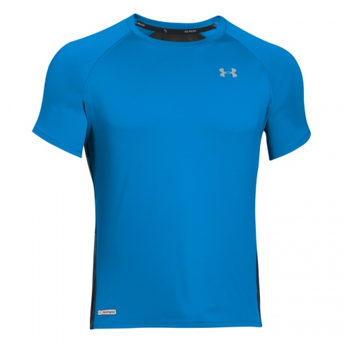 Clothing - Under Armour UA HeatGear Run Short Sleeve | fitness