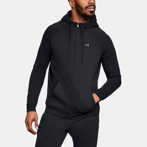 Clothing - Under Armour UA Rival Fleece Full-Zip Hoodie 0737 | Fitness
