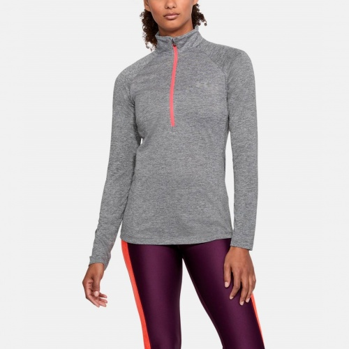Clothing - Under Armour UA Tech Twist 1/2 Zip Long Sleeve Shirt 0128 | Fitness