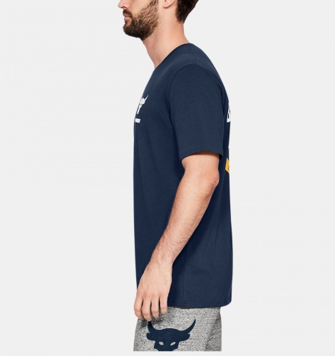 Clothing -  under armour X Project Rock BSR Short-Sleeve Top 7361