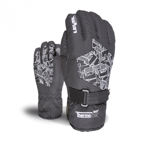 Ski & Snow Gloves - Level Junior Black | Snowwear