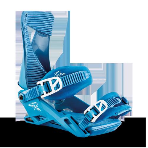 Snowboard Bindings -  nitro The Zero